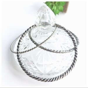 Silver Distressed Bangle Set